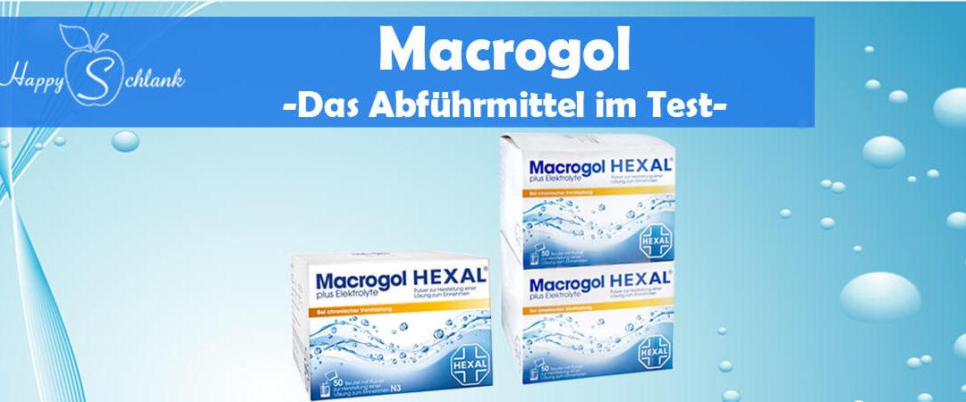 Macrogol – Das Abführmittel im Test