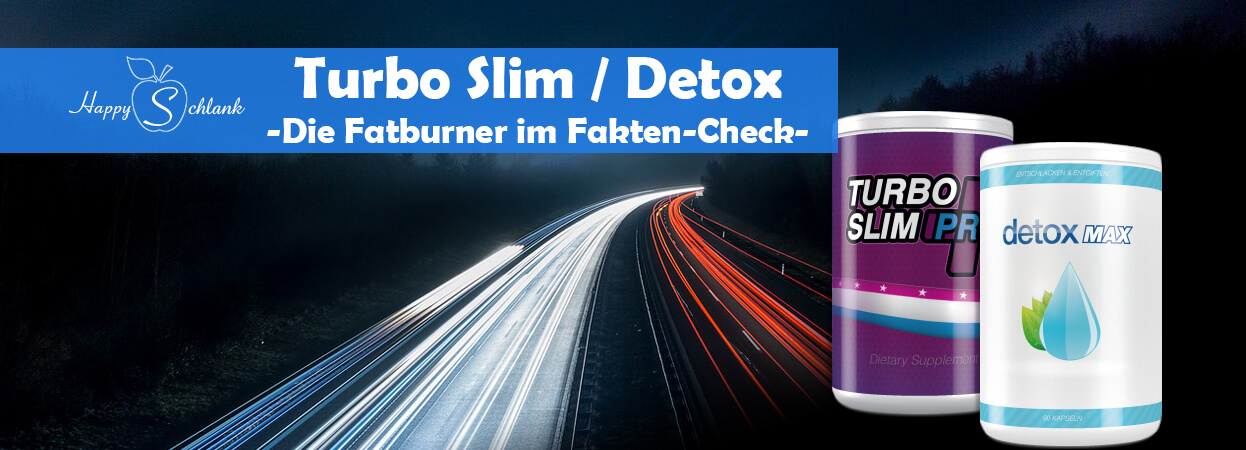 turbo slim pro + detox max
