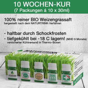 Detox Diät Bio Weizengrassaft