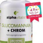 Unsere Empfehlung Glucomannan + Chrom
