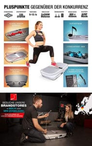 Vibrationsplatte Trainingsplan